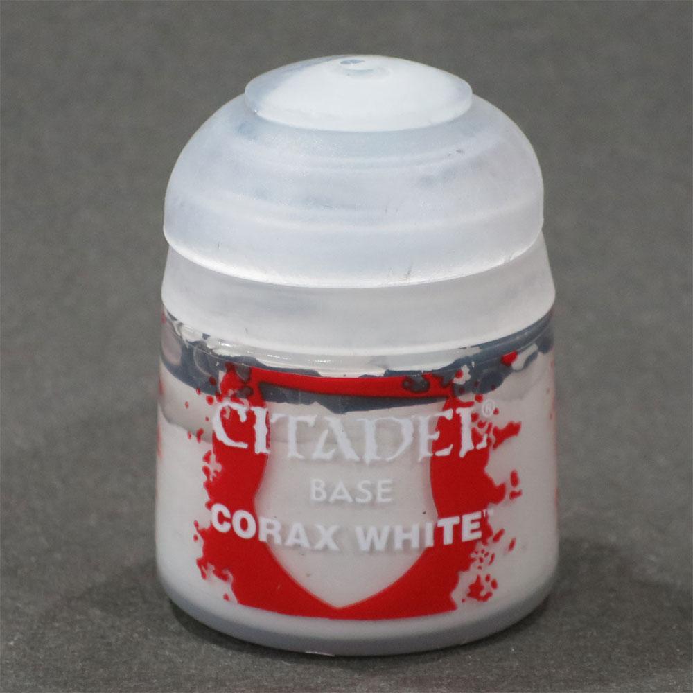 シタデル・ベースコート Corax White(コラックス・ホワイト) :ゲームズワークショップ つや消し塗料 21-52