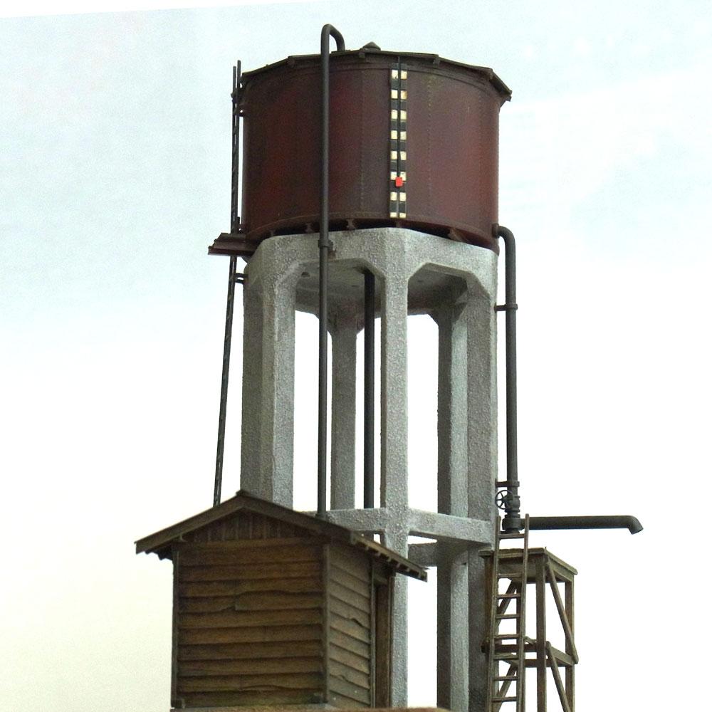 給水タンク 信楽線貴生川駐泊所タイプ :工房ナナロクニ 塗装済完成品 1/80(HO) 1019