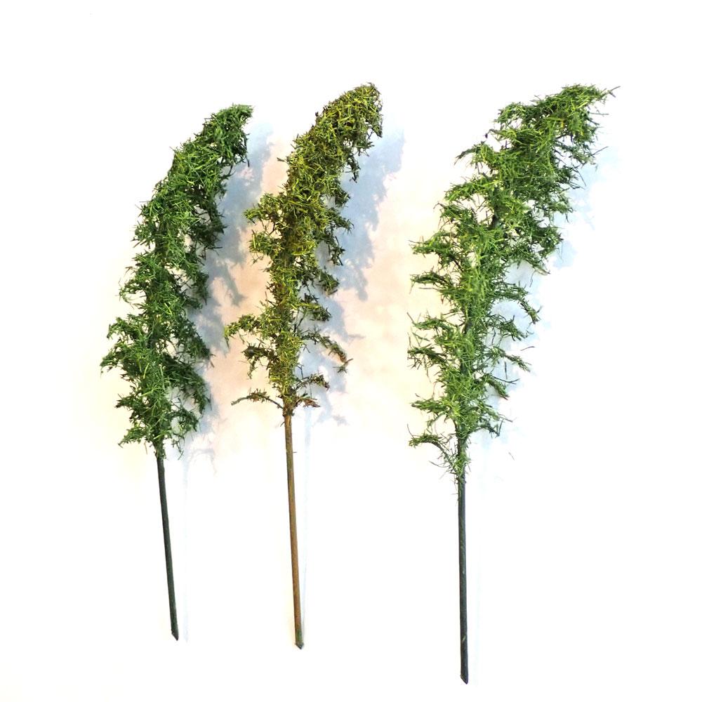 竹林 約12〜13cm 3本入り :木草BUNKO 完成品 HO(1/80) T2