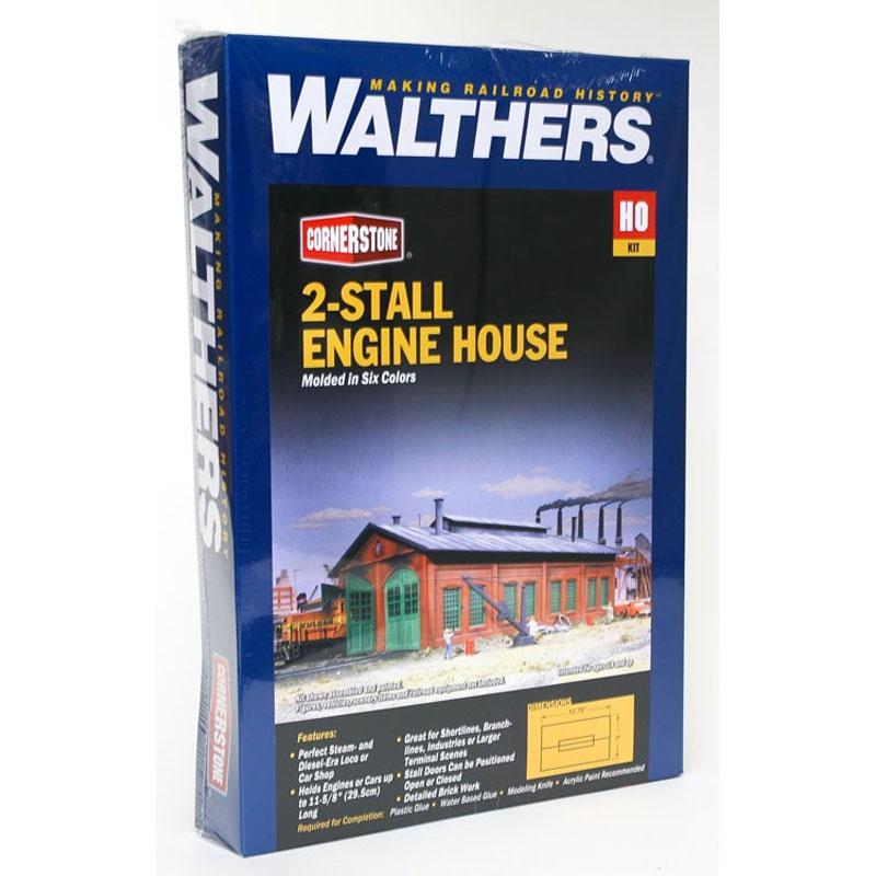 ストールエンジンハウス :ウォルサーズ 未塗装キット HO(1/87) 3007