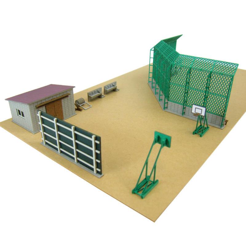 校庭設備 :さんけい キット N(1/150) MP03-105