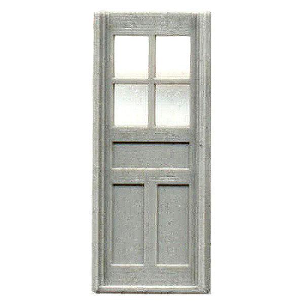 D&RGW カブースドア(CABOOSE DOORS ) :グラントライン 未塗装キット HO(1/87) 5063