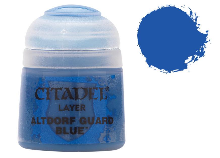 シタデル・レイヤー Altdorf Guard Blue(アルトドルフ・ガード・ブルー) :ゲームズワークショップ つや消し塗料 22-15