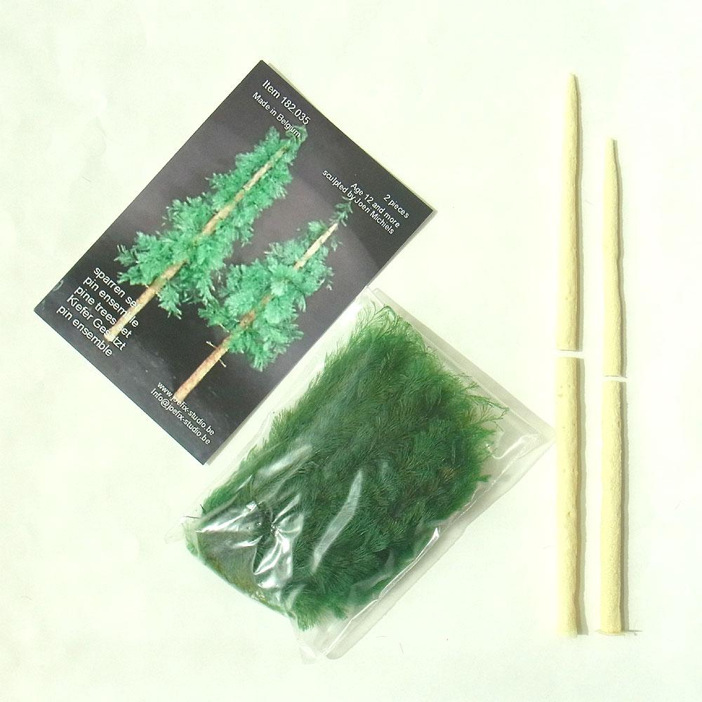 針葉樹セット (2本セット) :ジョーフィクス キット 1/35スケール JF182035