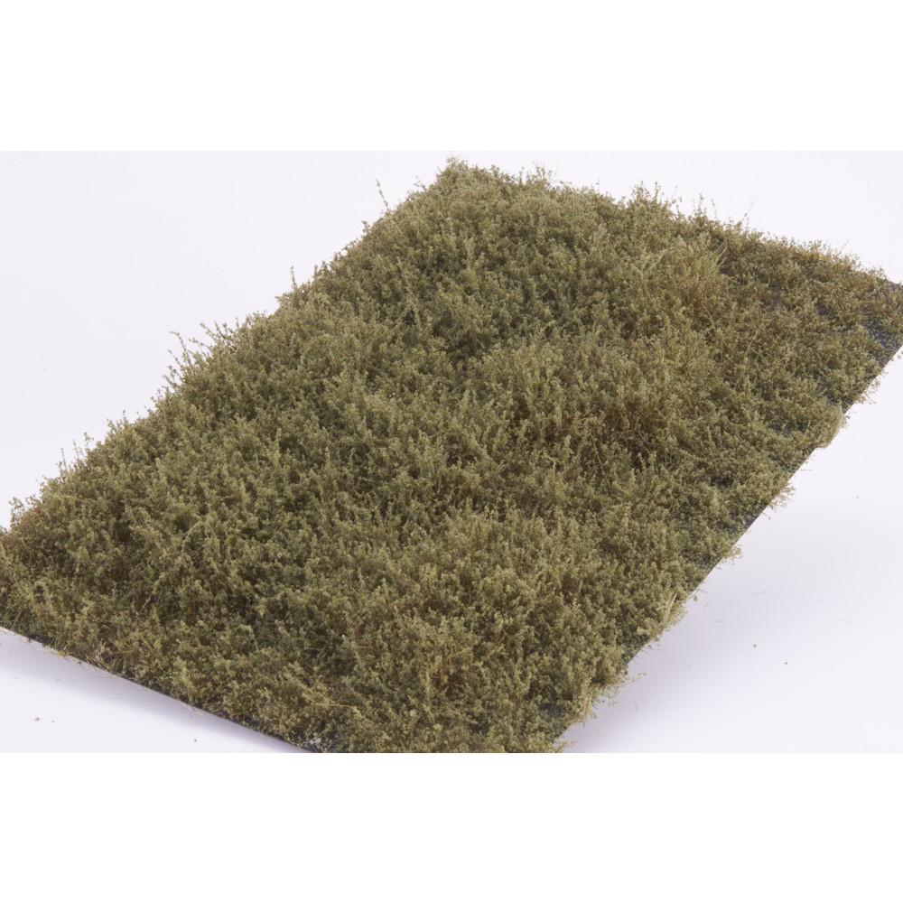 茂みE 草むらタイプ 全高20mm バーンドグリーン :マルティン・ウエルベルク ノンスケール WB-SEBG