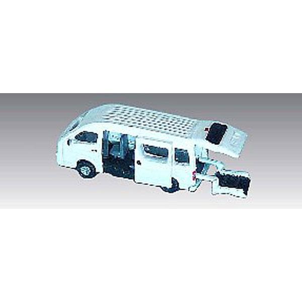 福祉車両リフト付きワゴン車 :アイコム 塗装済完成品 N(1/150) MLV-6020