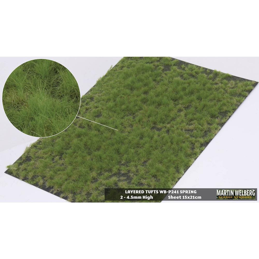 剥離タイプ(牧草地) 春 全高4.5mm :マーティンウェルバーグ ノンスケール WB-P241