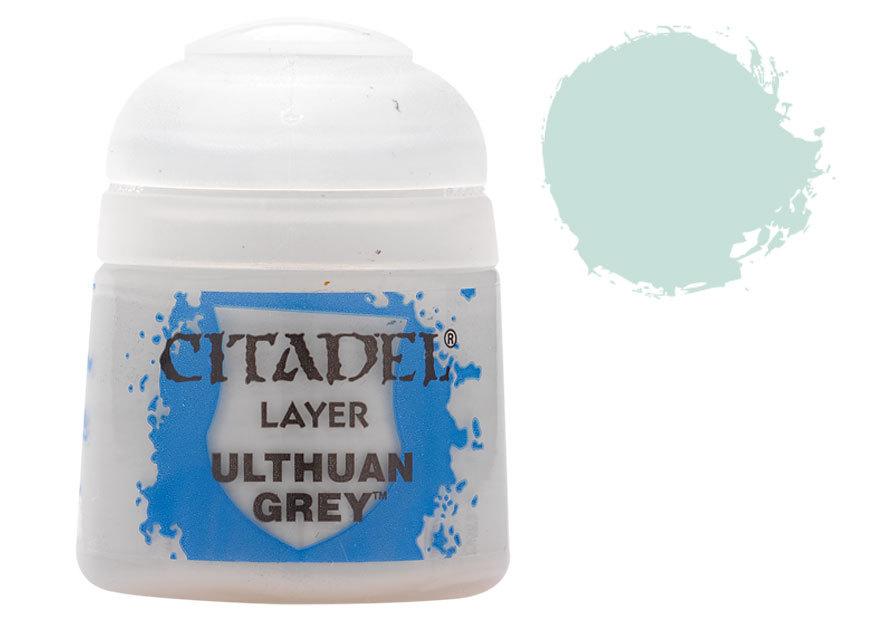 シタデル・レイヤー Ulthuan Grey(ウルサーン・グレイ) :ゲームズワークショップ つや消し塗料 22-56