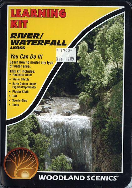 入門素材セット 川と滝 :ウッドランド 素材 ノンスケール LK955