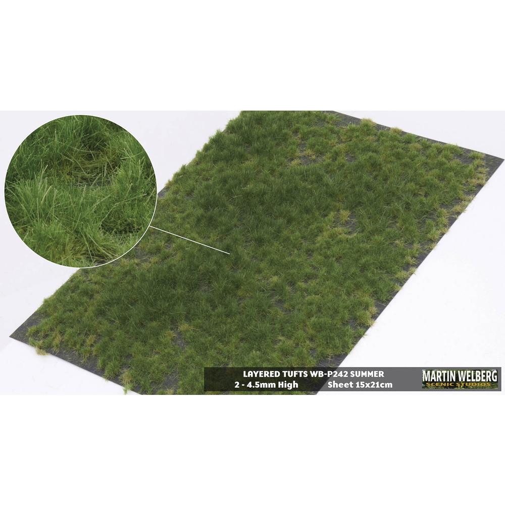 剥離タイプ(牧草地) 夏 全高4.5mm :マーティンウェルバーグ ノンスケール WB-P242