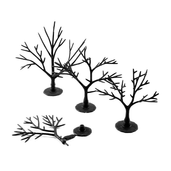 樹木組み立てキット 5.1〜7.6cm 57本入り :ウッドランド 素材 ノンスケール TR1121