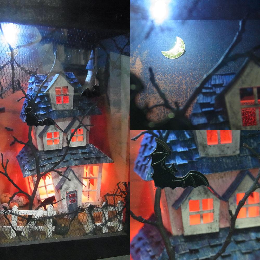 「HAPPY HALLOWEEN(ハッピーハロウィン)」インフレーム 大 :亀田信子 塗装済完成品 ノンスケール