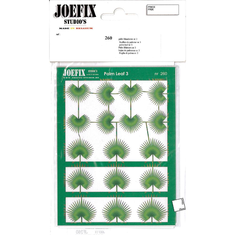 1/48-1/87 椰子の葉 #3 :ジョーフィクス 素材 1/87〜1/48スケール JF260