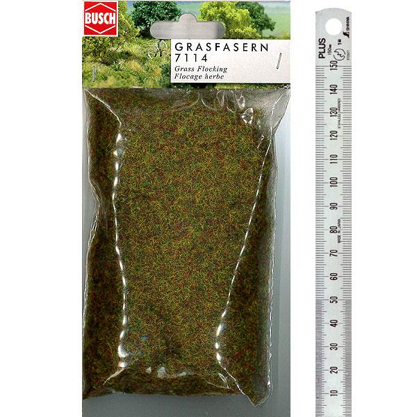 繊維系素材 スタティックグラス オータムグリーン :ブッシュ 素材 ノンスケール BU7114
