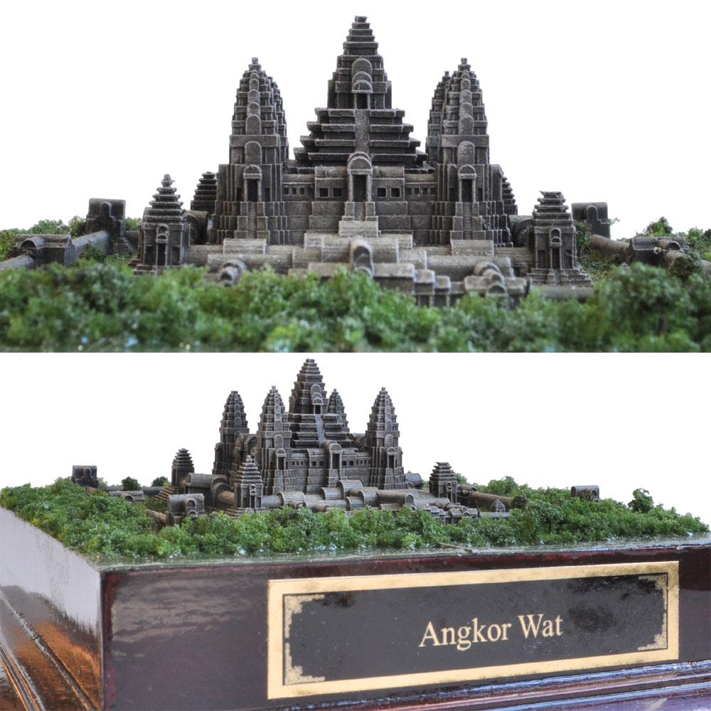 特別完成品 アンコールワット −カンボジア− :ばーちゃわーるど 塗装済完成品 1/2400 VM-012F