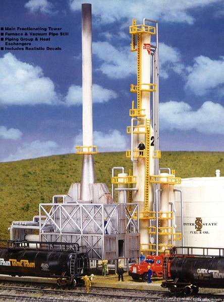 ノースアイランド石油製油所 :ウォルサーズ 未塗装キット N(1/160) 3219
