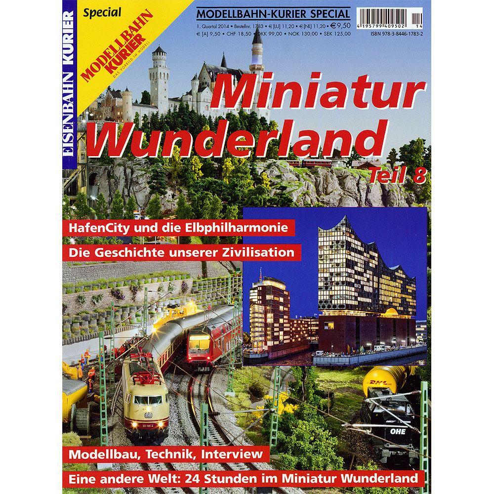 ミニチュアワンダーランド vol.8 モデルバーン・クーリエ特別版 :KE出版 (本) ドイツ語