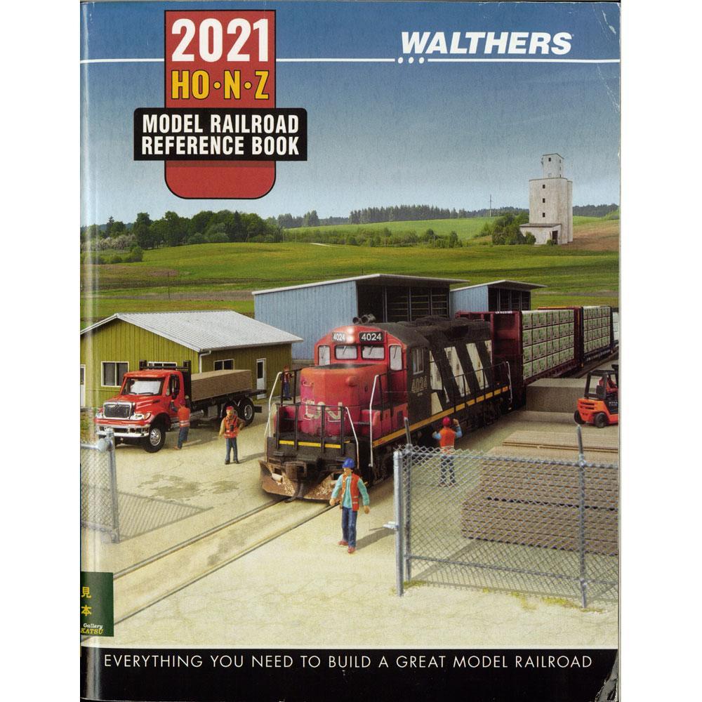 ウォルサーズ2021年版 HO・N・Zスケール総合カタログ (洋書:英語) 221