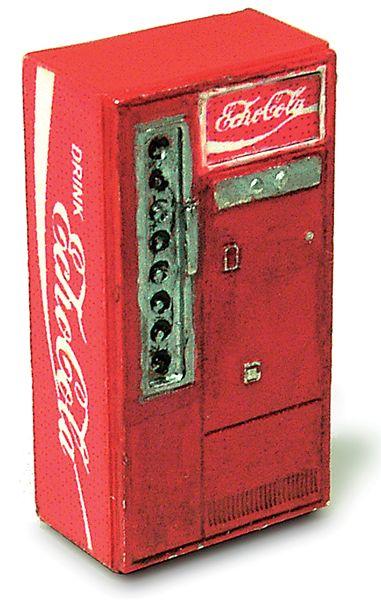 コーラ自販機 2個入り :エコーモデル 未塗装キット HO(1/80) 432