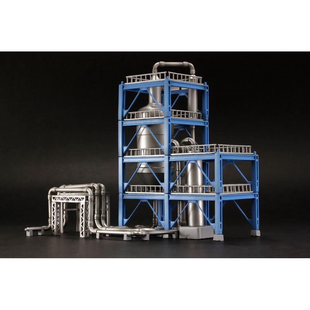 工業地帯C(精製炉) :PLUM 未塗装キット ノンスケール PP082