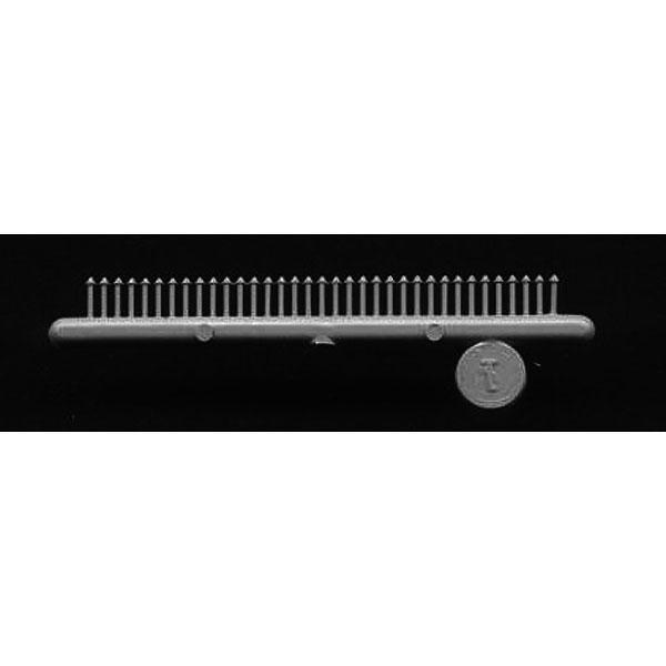 ワッシャー付き 角型ボルトナット :グラントライン 未塗装キット(部品) HO(1/87) 5123