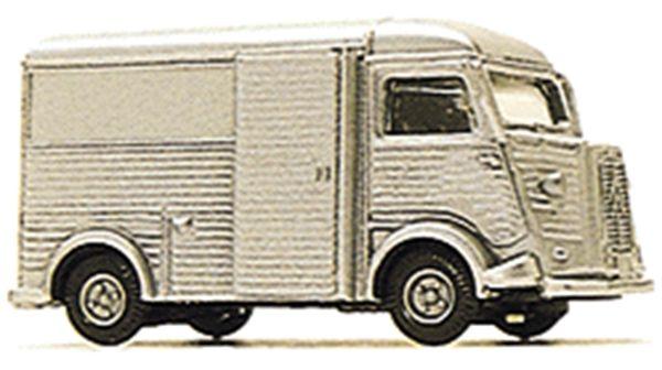 シトロエン H バン Citroen Model H Van(シルバー) :ブッシュ 塗装済完成品 HO(1/87) 41909