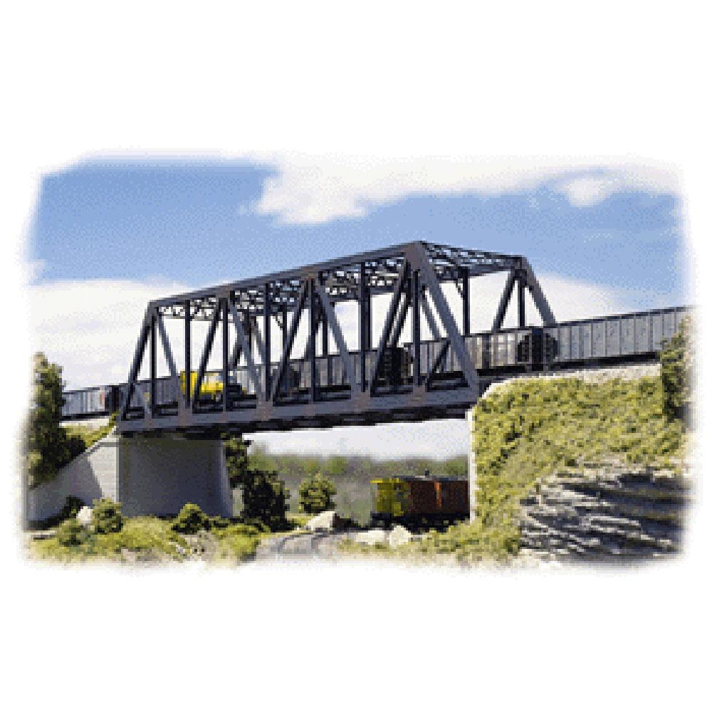 複線トラス橋 :ウォルサーズ 未塗装キット N(1/160) 3242