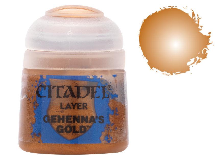 シタデル・レイヤー Gehenna's Gold(ゲヘナズ・ゴールド) :ゲームズワークショップ つや消し塗料 22-61
