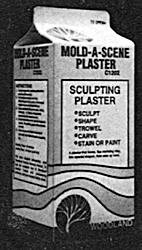モールドAシーン・プラスター(粒子入り石膏)  :ウッドランド 素材 ノンスケール C1202
