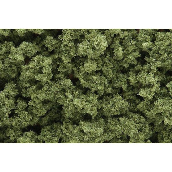 スポンジ系素材 【ブッシュ】 ライト・グリーン(明緑色) :ウッドランド 素材 ノンスケール FC145