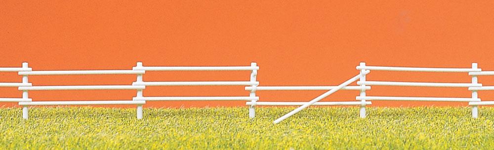 放牧場のフェンス(木柵) :プライザー キット HO(1/87) 17605