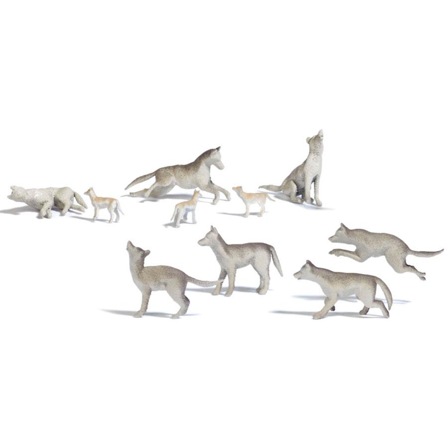 狼(オオカミ) :ブッシュ 未塗装キット HO(1/87) 1193