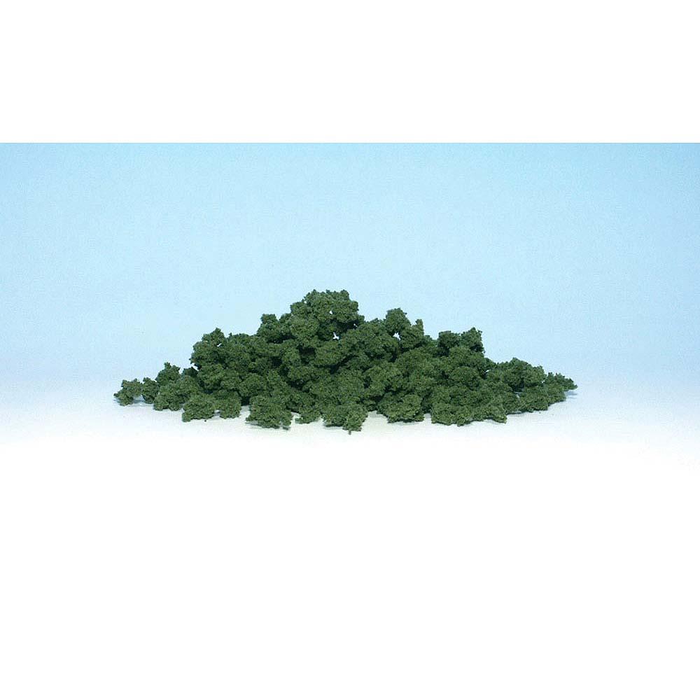 スポンジ系素材 【ブッシュ】 ミディアム・グリーン(緑) :ウッドランド 素材 ノンスケール FC146