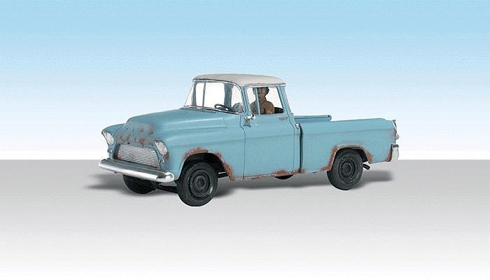 古ぼけたピックアップトラック :ウッドランド 塗装済完成品 HO(1/87) AS5534