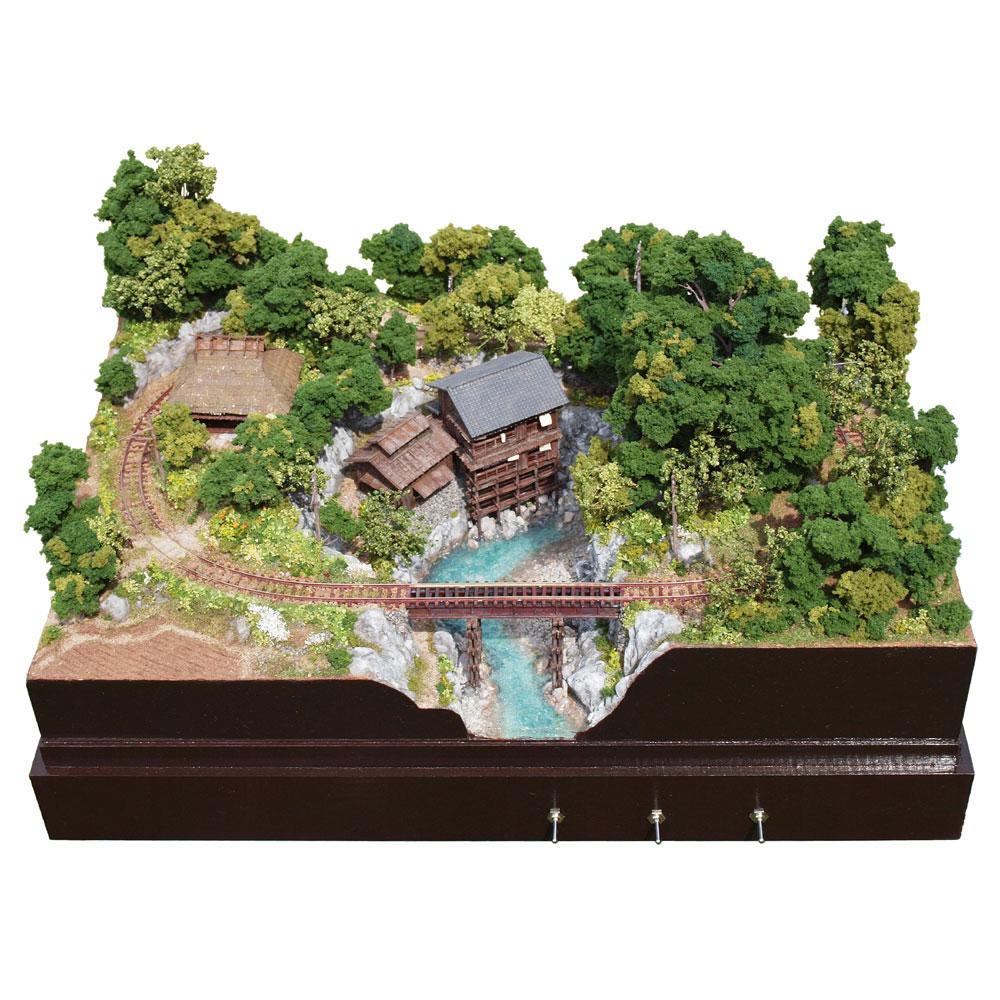 壱の渓温泉 電気軌道・改 :山尾比呂士 塗装済完成品 1/150サイズ