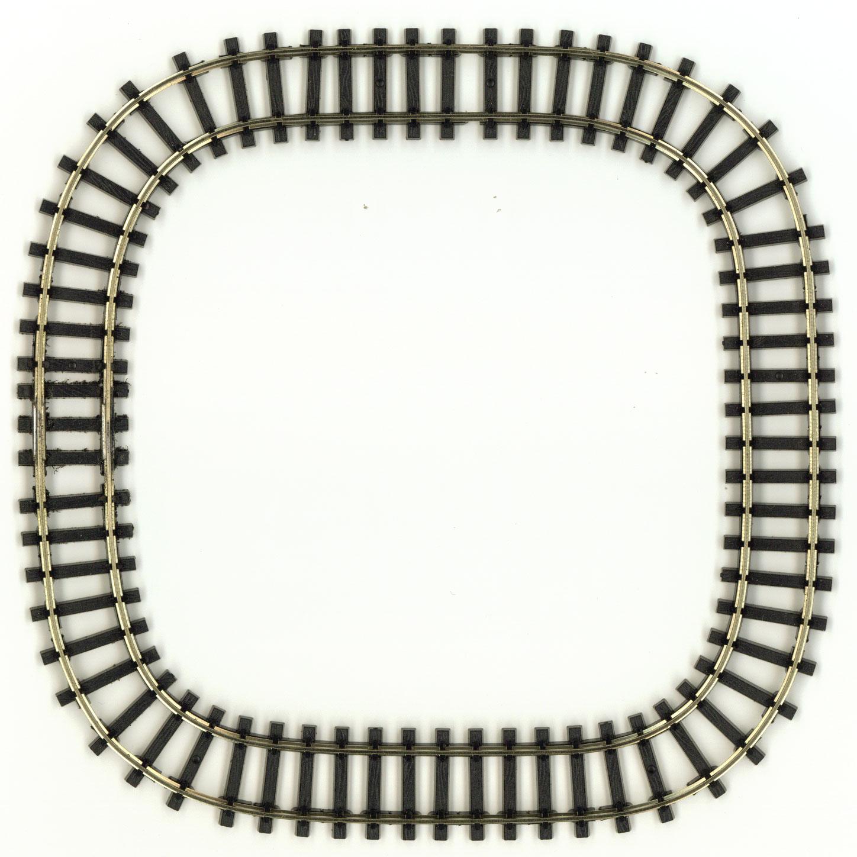 ミニミニトレイン用正方形100レール :石川宜明 鉄道 線路9mmゲージ N(1/150)