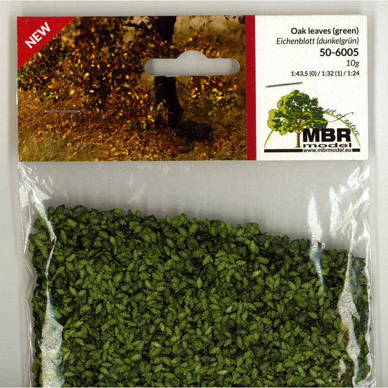 パウダー系素材 オークの葉(緑) :MBR 素材 ノンスケール 50-6005