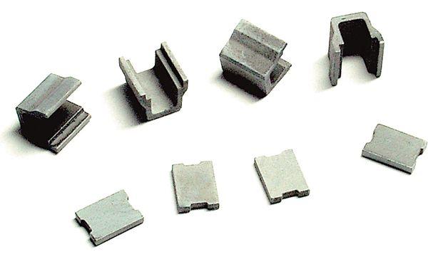 側溝(単品) 4組入り :エコーモデル 未塗装キット HO(1/80) 146