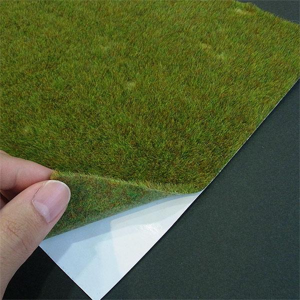 【芝生フィルム】 春の草むら :ブッシュ 素材 HO(1/87) 1302