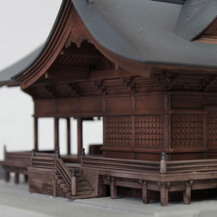 諏訪大社 下社秋宮 :PLUM 未塗装キット N(1/150) PP037