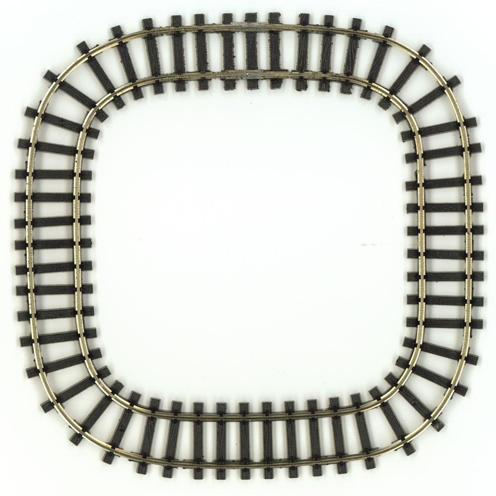ミニミニトレイン用正方形80レール :石川宜明 鉄道 線路9mmゲージ N(1/150)