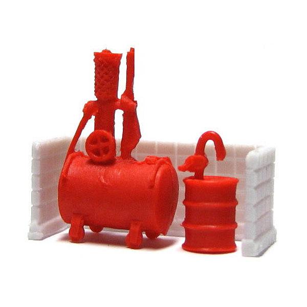 ガソリン計量器 :YSK 未塗装キット N(1/150) 品番211