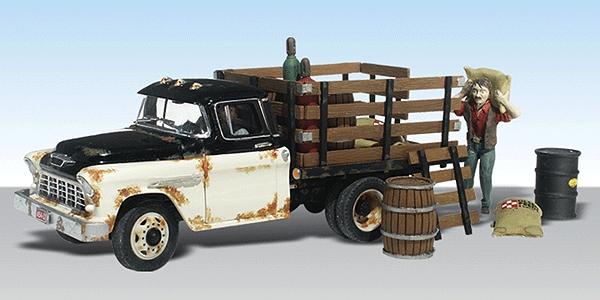ヘンリーのトラック :ウッドランド 塗装済完成品 HO(1/87) AS5538