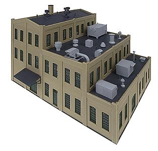 屋上の小物(排気口、換気ダクト、エアコン室外機など) :ウォルサーズ 未塗装キット N(1/160) 3286