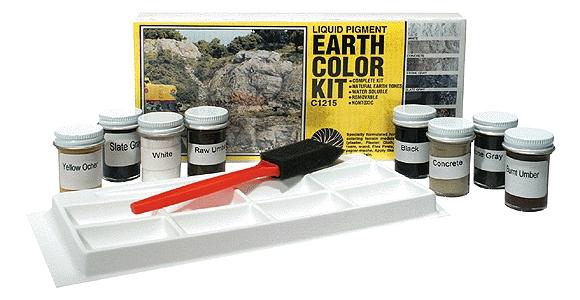アースカラー・キット(EARTH COLOR KIT)地面色セット :ウッドランド 塗料 C1215