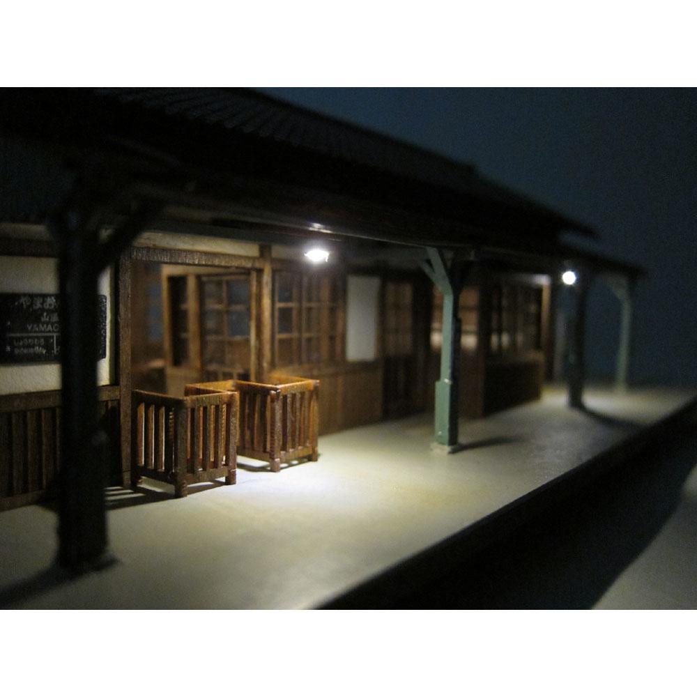 1号標準駅舎 「やまおんせん」 :匠ジオラマ工芸舎 塗装済完成品 1/80