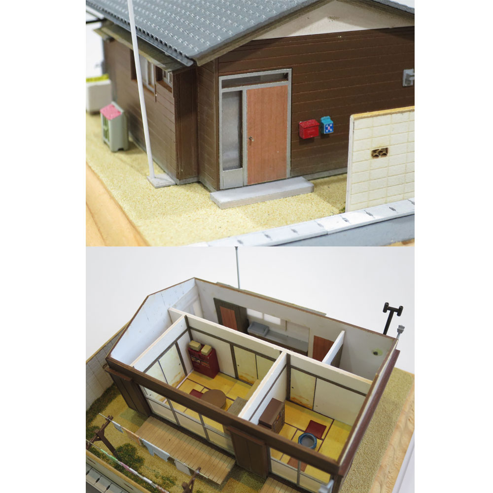 住宅スペシャル :昭和浪漫堂 塗装済完成品 1/80 スケール