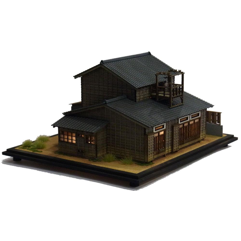 鈴木オート :伊藤敏男 塗装済完成品 1/87