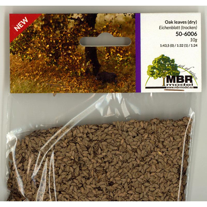 パウダー系素材 オークの葉(枯葉色) :MBR 素材 ノンスケール 50-6006