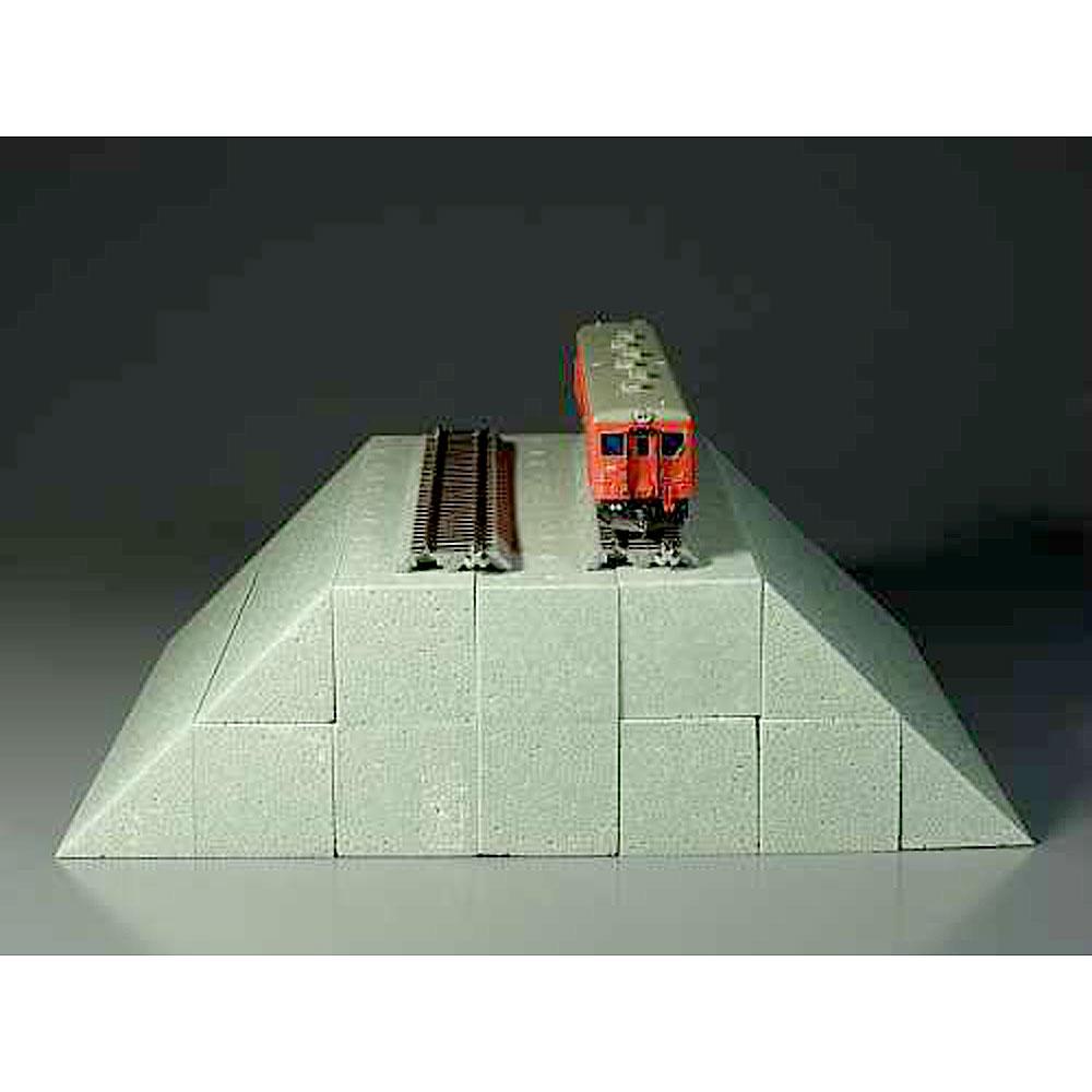 築堤パーツ 基本部(2個入り):モーリン 素材 TM-01